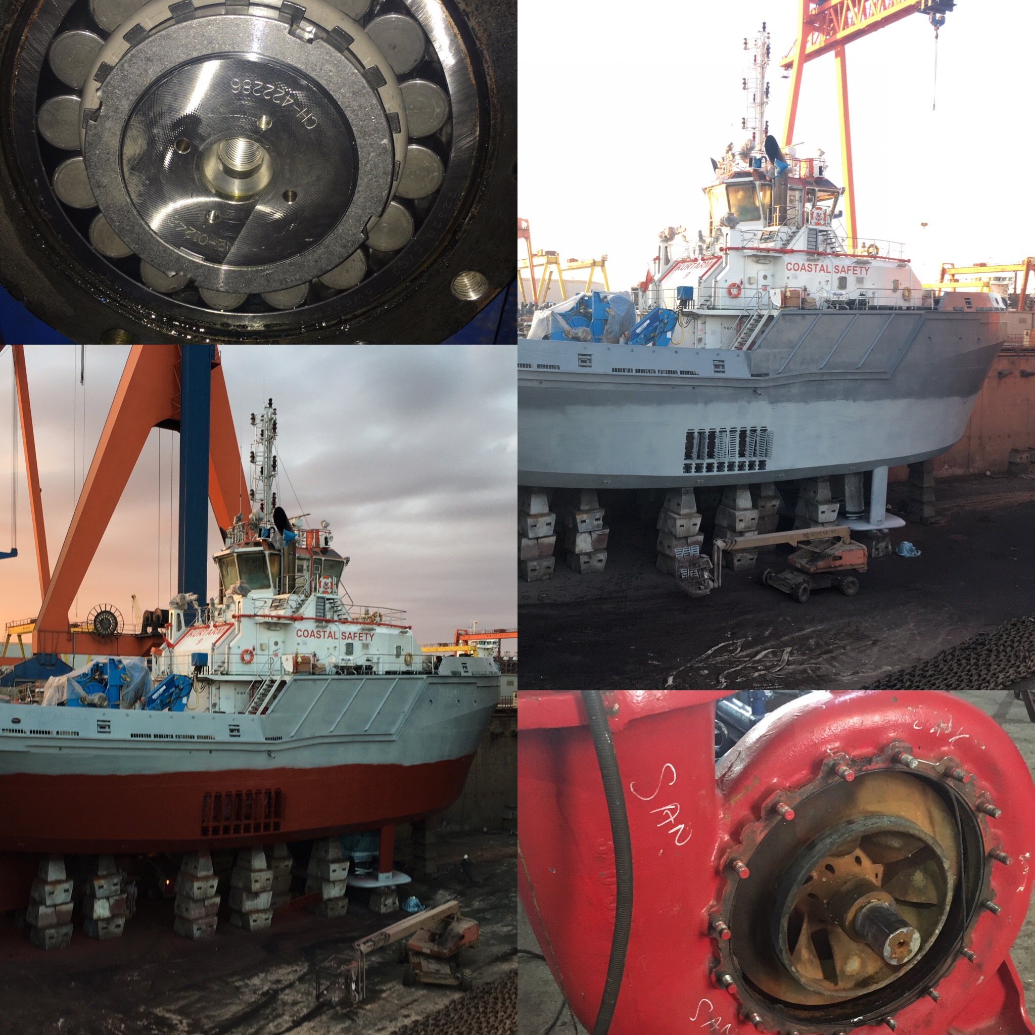 KURTARMA 9 95 BP TUG BOAT REPAIR